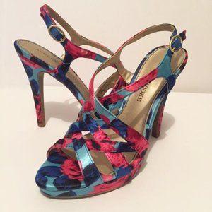 Audrey Brooke Dorian Stiletto Sandals Size 6.5